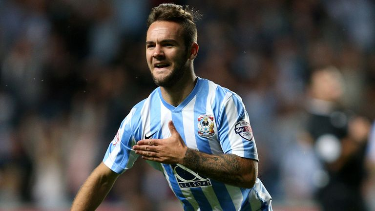 Adam Armstrong spent last season on loan at Coventry