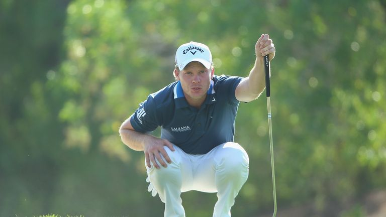 Danny Willett was four under for the day after ten holes
