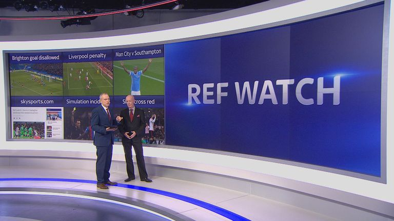 Dermot Gallagher joined Rob Wotton on Sky Sports Today for Ref Watch