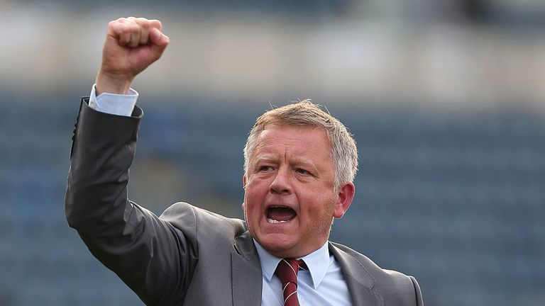 Chris Wilder started his coaching career at Bradway FC in a Sheffield Sunday league and has gone on to win promotion from the Conference, League Two, League One and the Championship