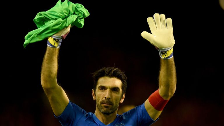 Gianluigi Buffon will make his 1,000th career appearance when Italy host Albania