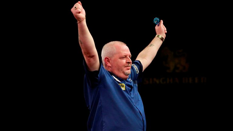 Robert Thornton fit and firing for Premier League Darts return
