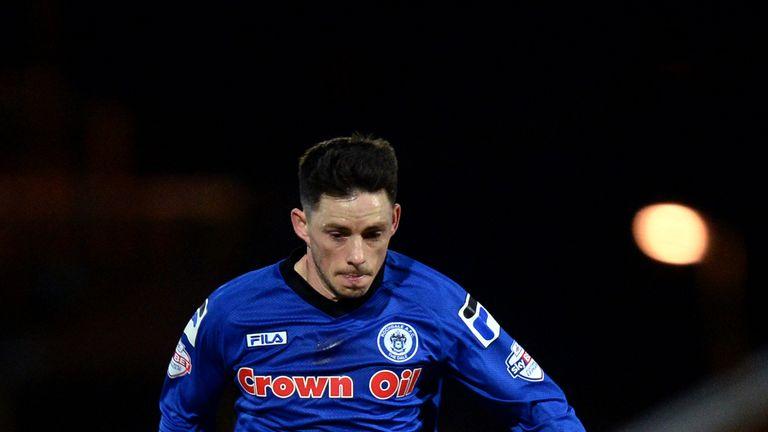 Ian Henderson scored Rochdale's second