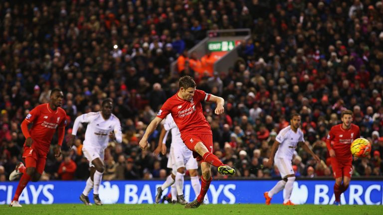 Milner scores from the spot in the 62nd minute