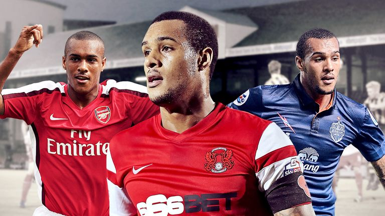 Arsenal youth product Jay Simpson has found form at Leyton Orient this season