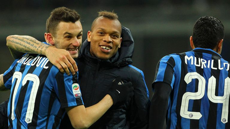 Marcelo Brozovic (left) has reportedly attracted interest from Arsenal