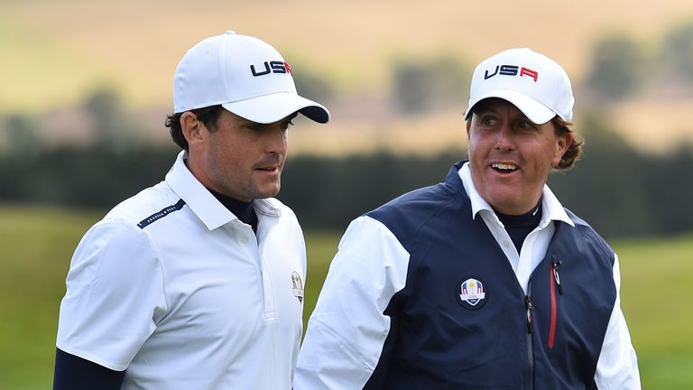 Mickelson has not played since helping Team USA to victory at the Presidents Cup in October