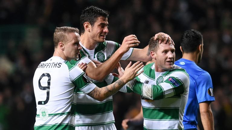 Kris Commons (right) brought Celtic level