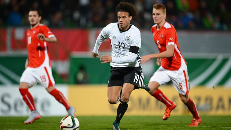 Schalke's Leroy Sane offers pace and quality for Jogi Low's Germany