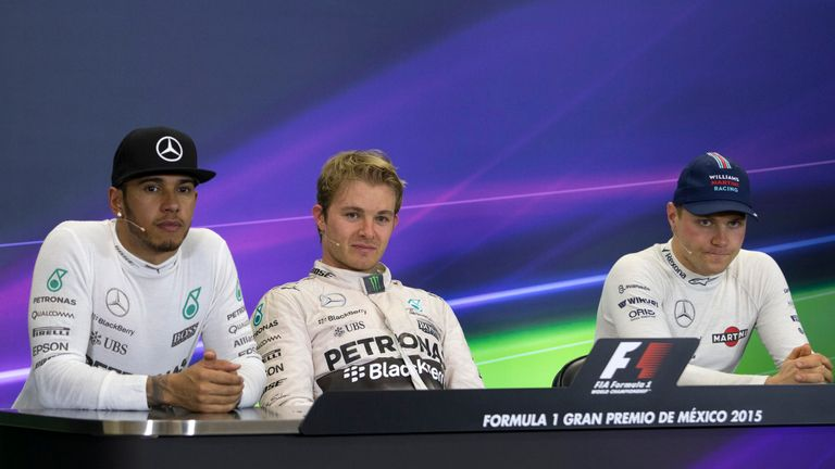 Cracks have started to appear in Hamilton and Rosberg's relationship again