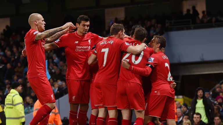 Liverpool produced an impressive display to beat Manchester City 4-1 on Saturday