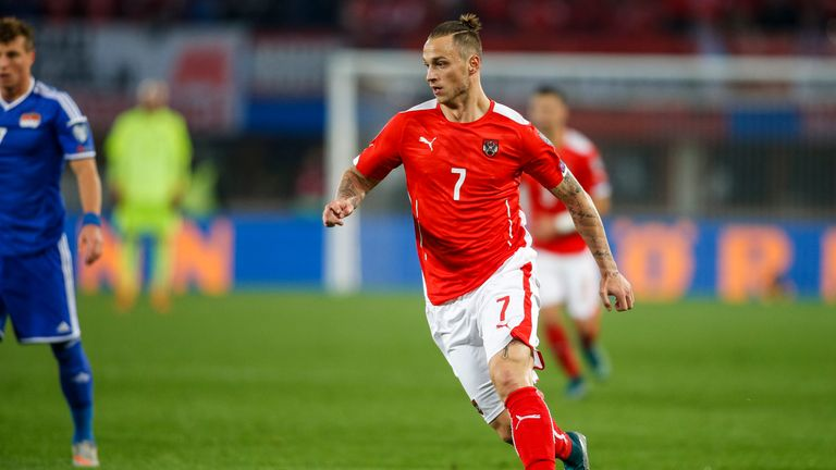 Arnautovic is one of Austria's most recognisable sports personalities