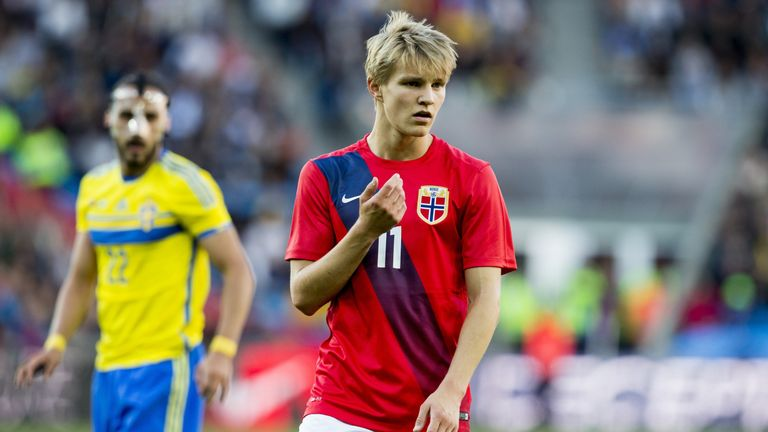 Martin Odegaard will be one of Norway's main threats
