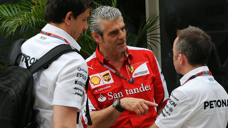 Mercedes and Ferrari have been battling on track throughout 2015