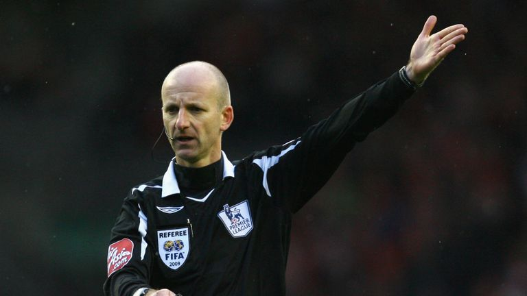 Former referee Mike Riley is on the PFA Fans' Player of the Month panel