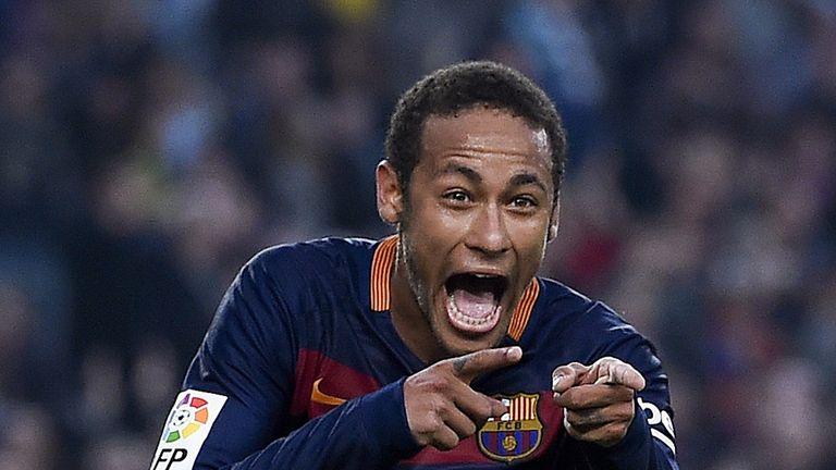 Barcelona's Brazilian forward Neymar has enjoyed a wonderful year