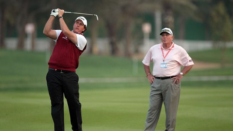 Mickelson also has a new coach after parting company with Butch Harmon