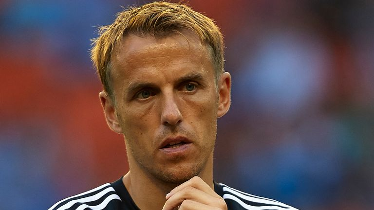 Phil Neville has coached at Valencia, Manchester United and England since retiring