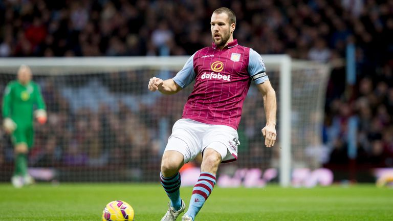 Ron Vlaar refused the offer of a new Aston Villa contract in the summer