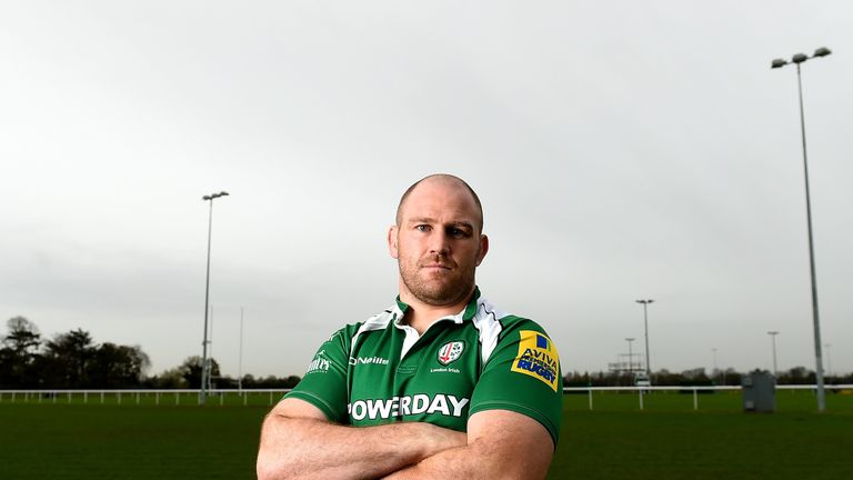 Ben Franks is another of the Exiles' international contingent