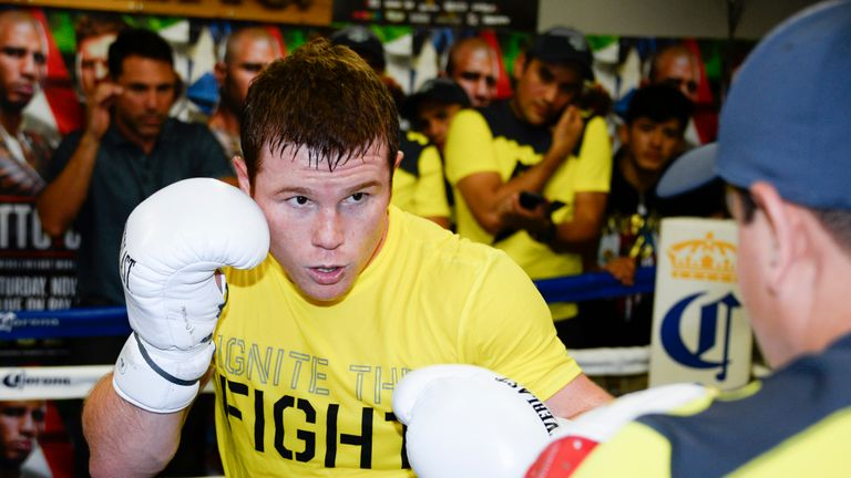 Canelo Alvarez is likely to have a weight advantage when he tackles Khan