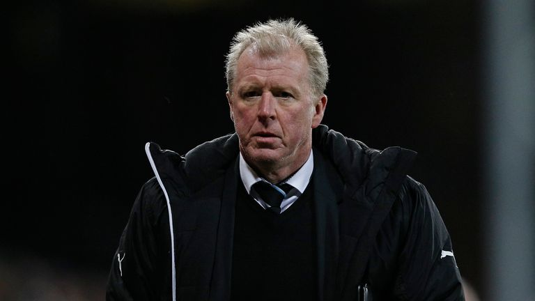 Newcastle United's head coach Steve McClaren is in regular contact with Coventry