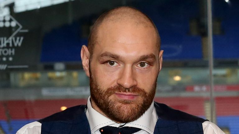 Tyson Fury is facing allegations of hate crime