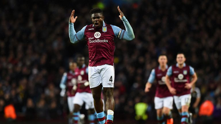 Micah Richards could return for Aston Villa on Monday afternoon