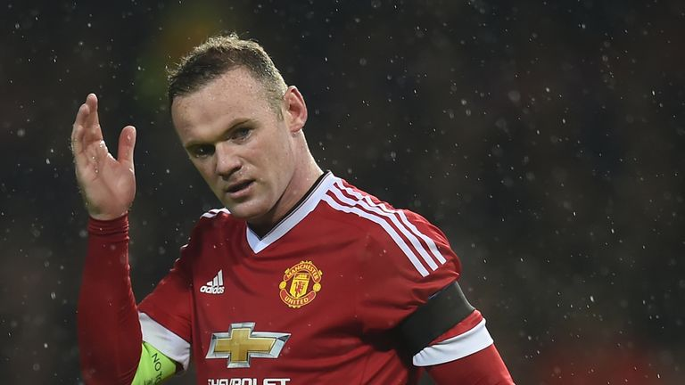 Rooney has scored just two league goals this season