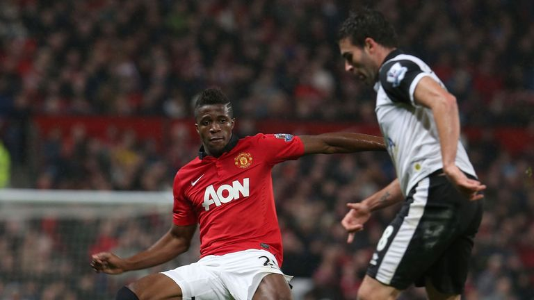 Zaha endured a frustrating time at Old Trafford before a return to Crystal Palace