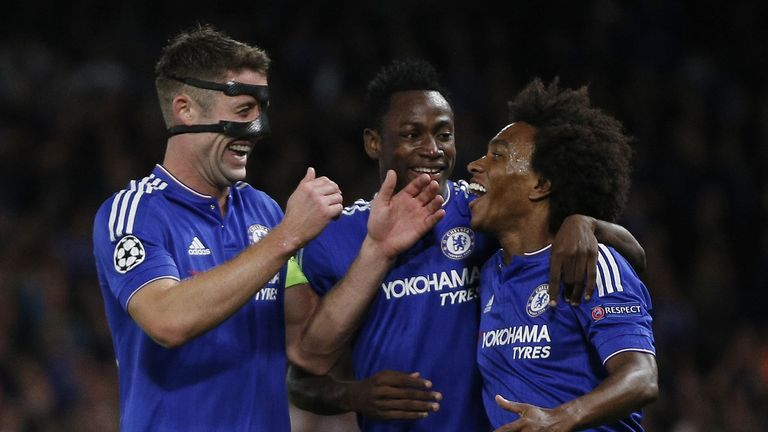 Chelsea could still form a bid for the Champions League spots, says Neville