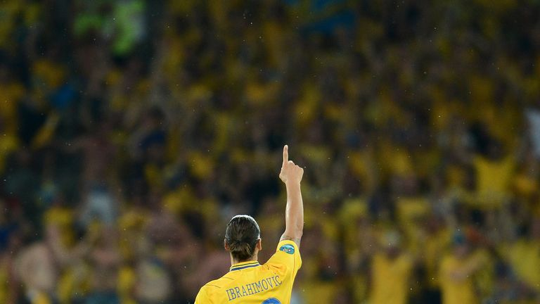 Ibrahimovic salutes Sweden's fans