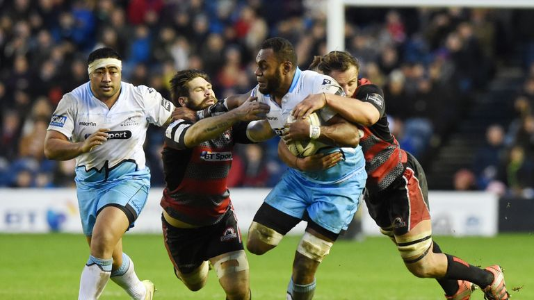 Leone Nakarawa has become integral to Glasgow's attack