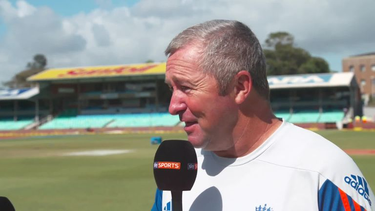 Paul Farbrace was impressed with Bairstow's performance behind the stumps