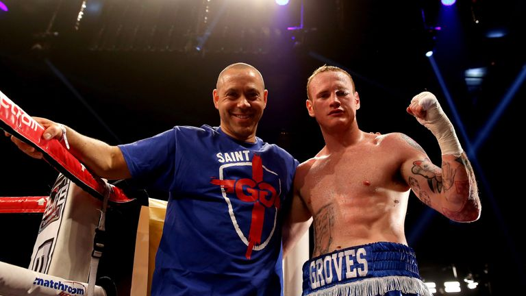 Adam Booth was the man behind George Groves' early career