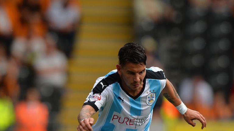 Adam Hammill in action for Huddersfield earlier this season