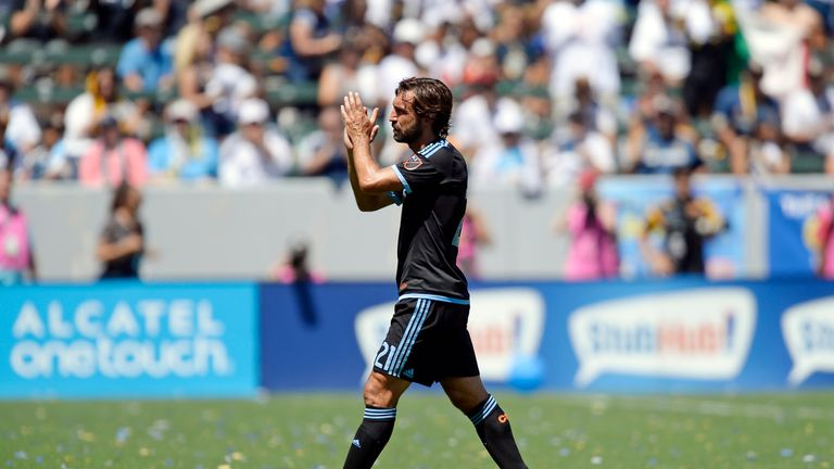 Pirlo joined NYC FC in July 6