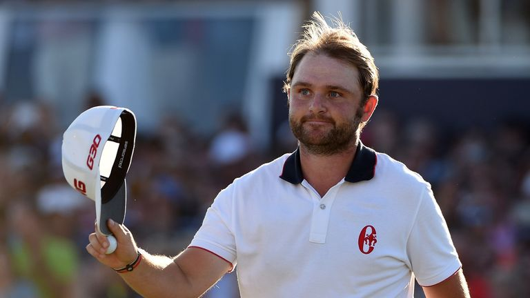 Andy Sullivan is one of the brightest talents on the European Tour