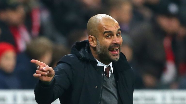 Pep Guardiola has been with Bayern Munich since 2013