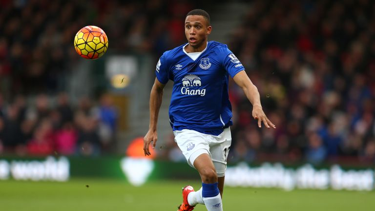 Galloway has been a regular for Everton this season
