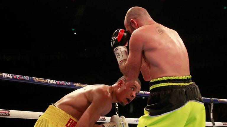 Eubank Jnr mixed showmanship with brutal punches