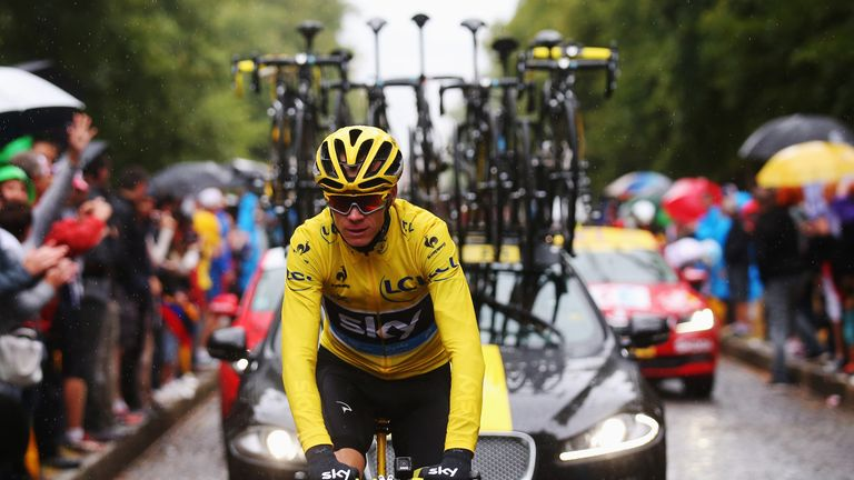 Chris Froome won his second Tour de France in July this year