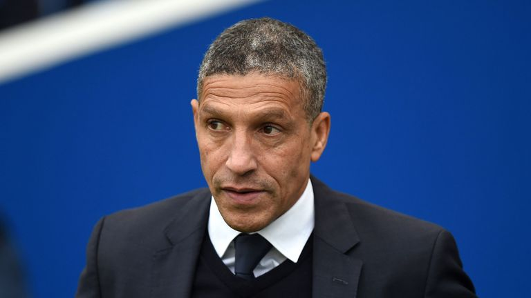 Brighton manager Chris Hughton will know his side have a big chance on Tuesday
