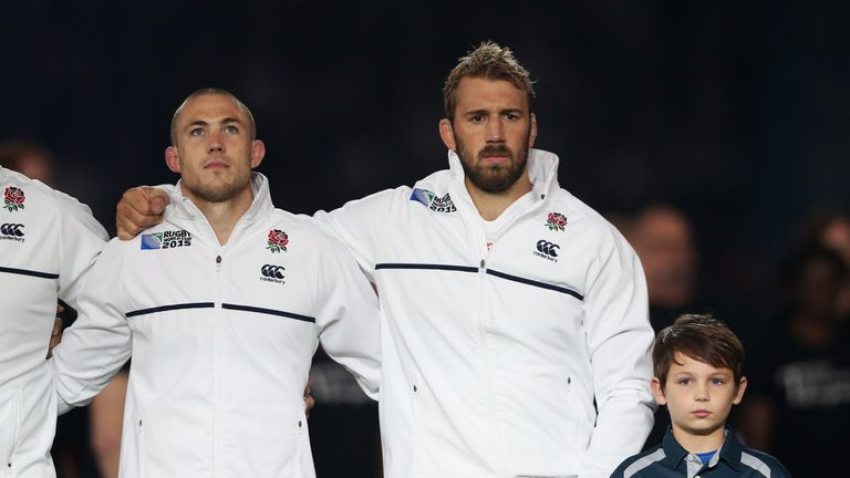 Robshaw led England as captain into their home 2015 World Cup
