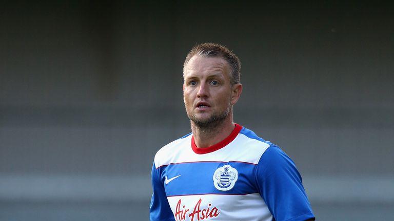 QPR defender Clint Hill