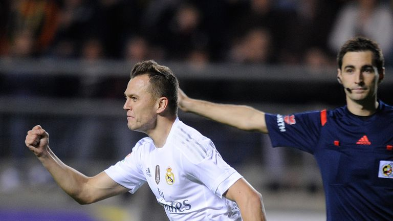 Denis Cheryshev (left) was fielded ineligibly by Real Madrid