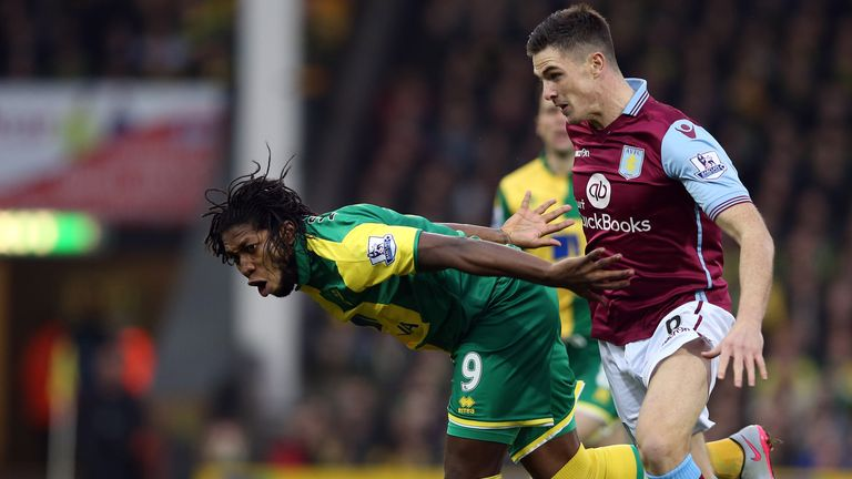 Aston Villa and Norwich are in a relegation fight