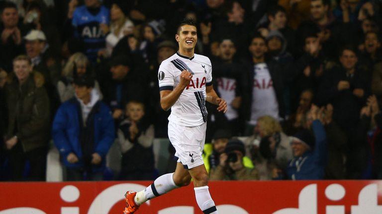 Erik Lamela impressed against Inter and scored the second of Spurs' six goals