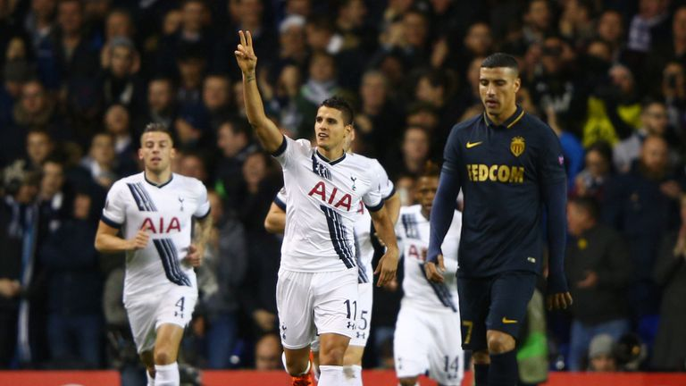 Lamela inspired Spurs to victory over Monaco