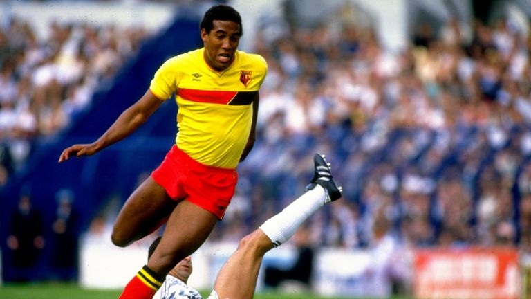 Barnes's trickery on the wing helped Watford to the 1984 FA Cup final